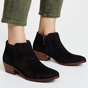 Sam Edelman Petty Suede Booties size 8.5